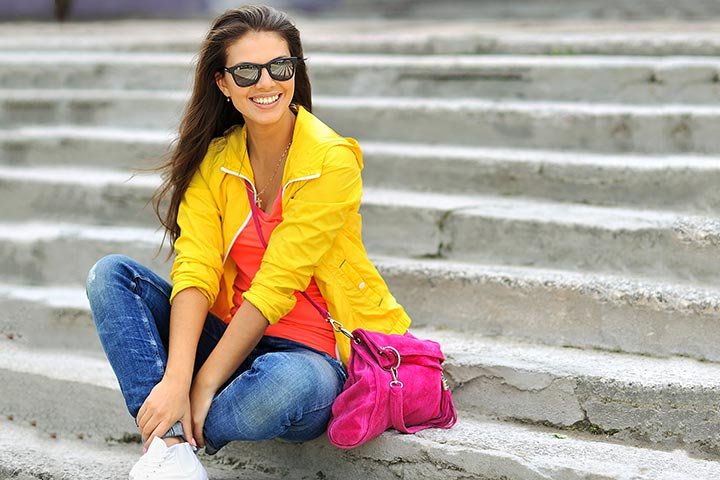 Fashion Tips For Teens   Colorful Layering