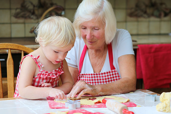 Grandparents Day Activities For Kids - Cook A Family Recipe Together