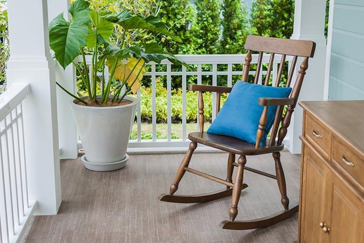 Cozy rocking chair