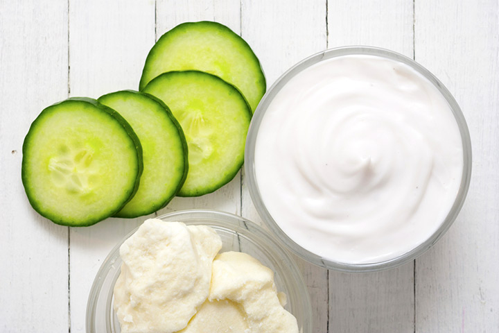 Homemade Face Mask For Kids - Cucumber Face Mask