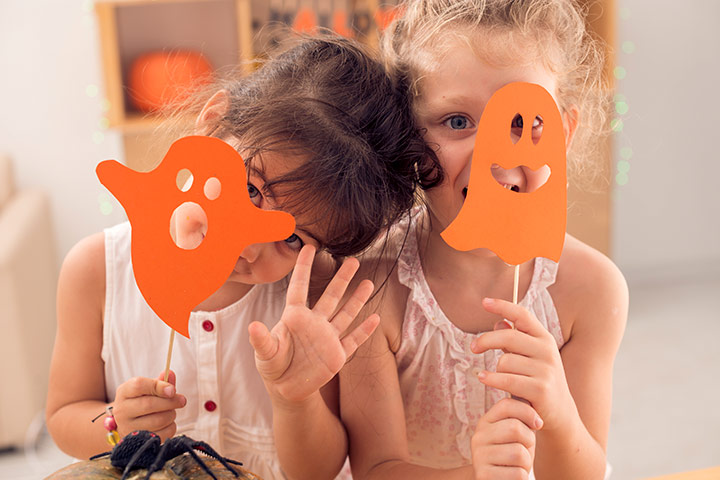 Mask Craft - Cute Ghost Masks