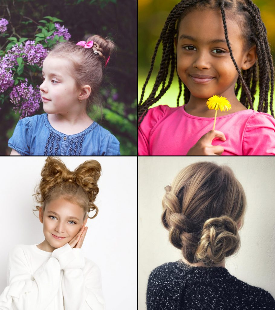 10 Super Easy Hairstyles For Girls