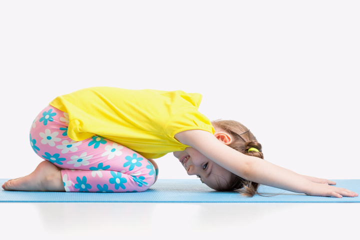 Stretching Exercises For Kids - Exercise 1