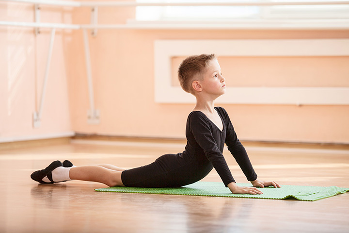 Stretching Exercises For Kids - Exercise 3