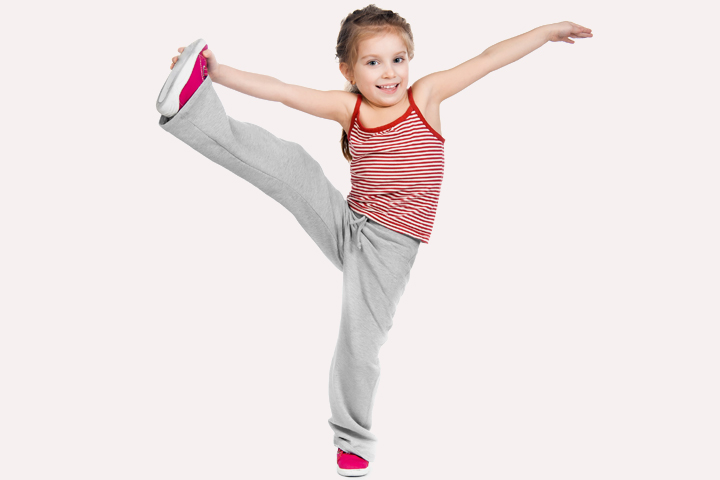 Stretching Exercises For Kids - Exercise 8