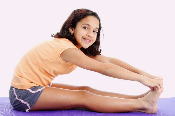 Stretching Exercises For Kids - Exercise 9
