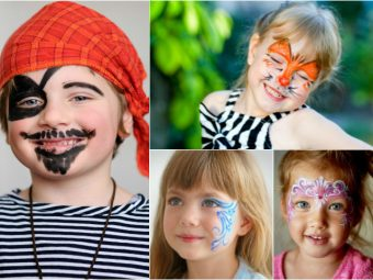 15 Creative Face Painting Ideas For Kids
