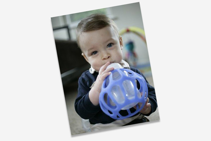 For toddlers who are yet to develop the hand coordination