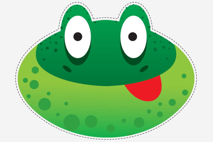 Frog Activities For Toddlers - Frog Mask