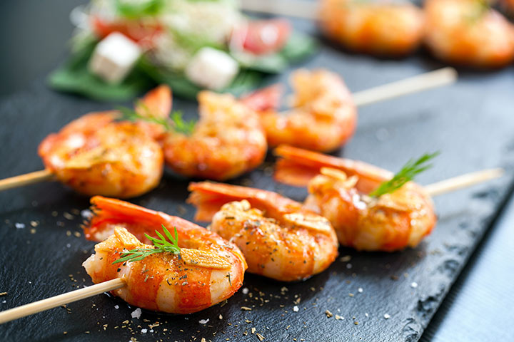 Recipes For Breastfeeding Moms - Grilled Prawns With Fennel Stew