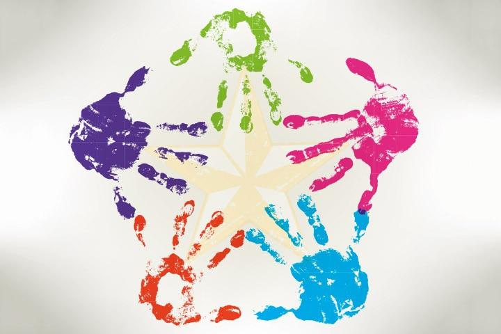 Handprint Star