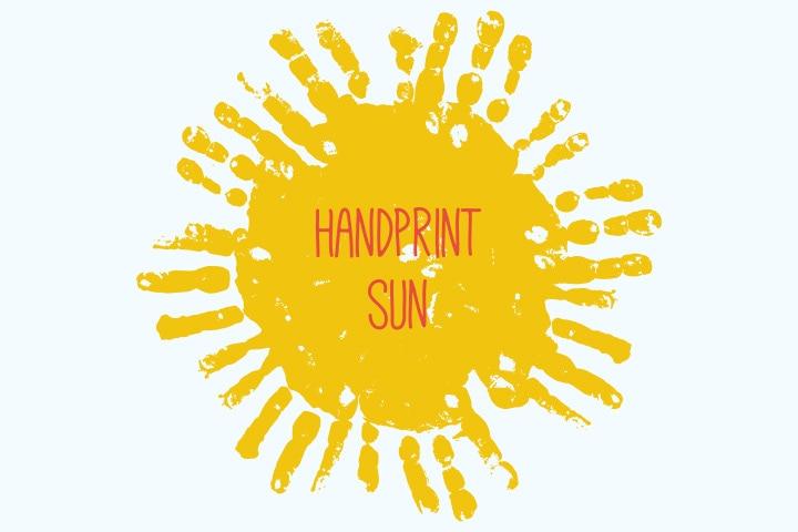 Handprint Sun