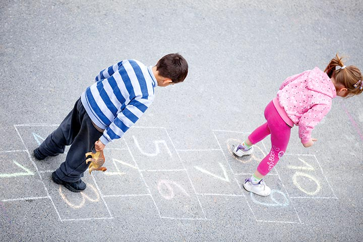 Rhyming Activities For Kindergarten - Hopscotch Rhymes