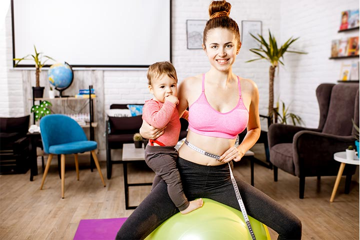 Lose weight after stopping breastfeeding