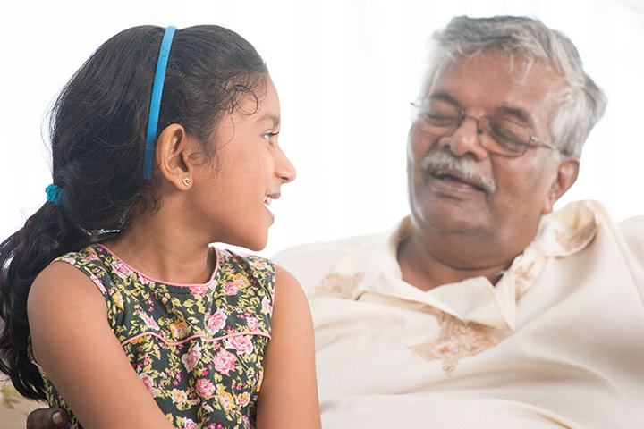 Grandparents Day Activities For Kids - Interview Each Other