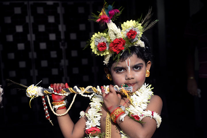 Janmashtami Activities For Kids - Dress Up Like Krishna