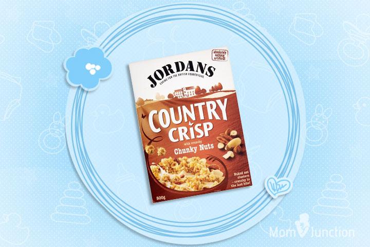 Jordans Country Crisp Four Nut Crunch