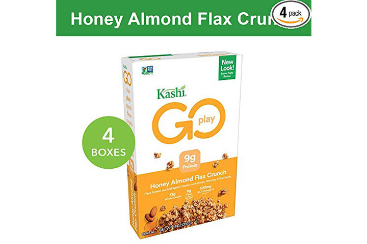 Kashi GO Honey Almond Flax Crunch Breakfast Cereal