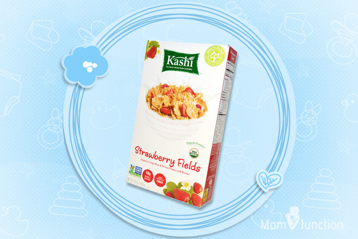 Best Cereal For Kids - Kashi Strawberry Fields