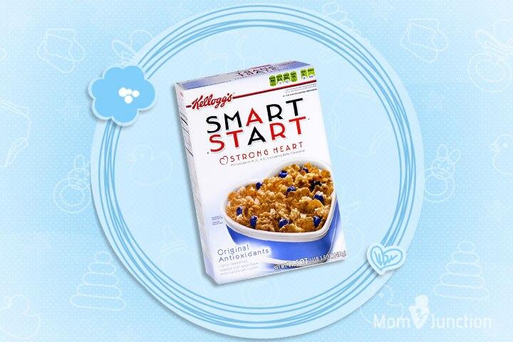 Kellogg's Smart Start Strong Heart Antioxidants Cereals