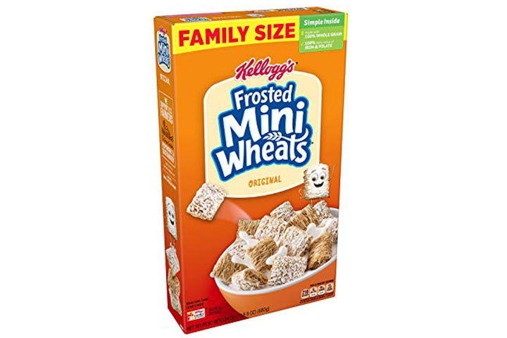 Kellogg's Breakfast Cereal Frosted Mini-Wheats