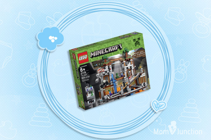 Minecraft Toys For Kids - LEGO Minecraft 21118 The Mine