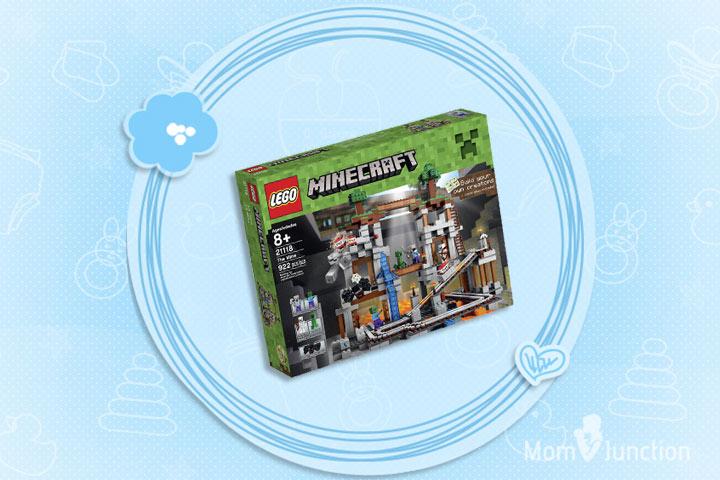 Minecraft Toys For Kids - LEGO Minecraft 21118 The Mine