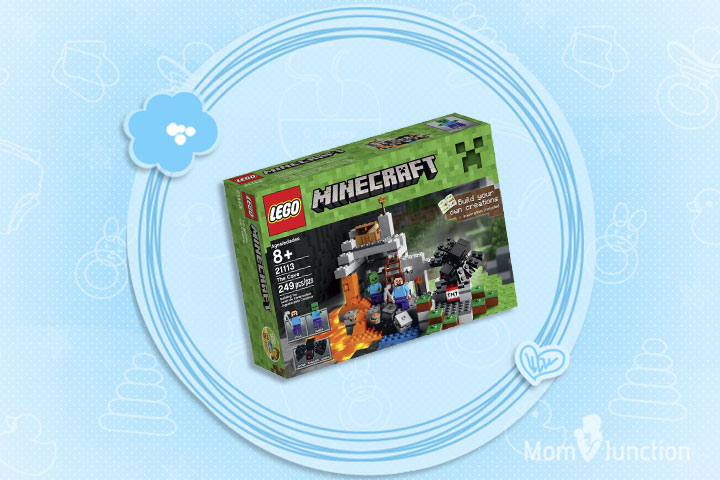 Minecraft Toys For Kids - LEGO Minecraft The Cave 21113 Playset