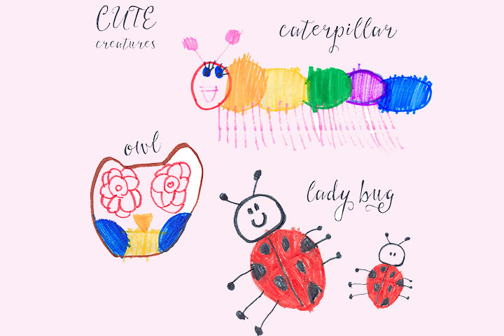Ladybug Craft - Ladybug's Art With Crayons