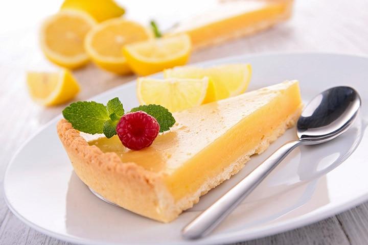 Easy Dessert Recipes For Teens - Lemon Yogurt Tart
