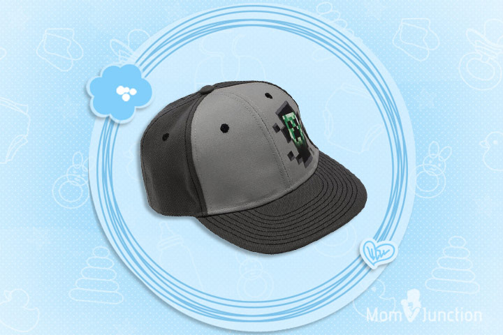 Minecraft Clothes For Kids - Minecraft Character Creeper Back Hat