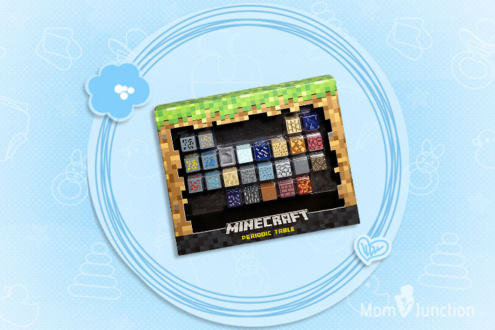 Minecraft Toys For Kids - Minecraft Periodic Table