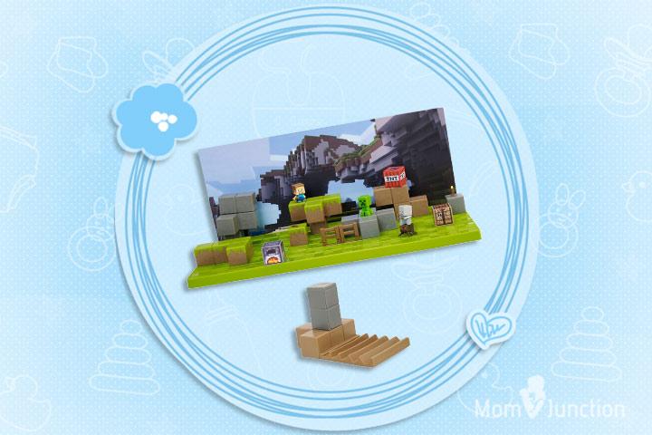 Minecraft Toys For Kids - Minecraft Stop-Motion Movie Creator