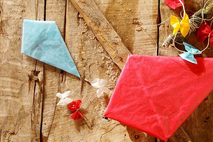 How To Make A Kite For Kids - Mini Kites