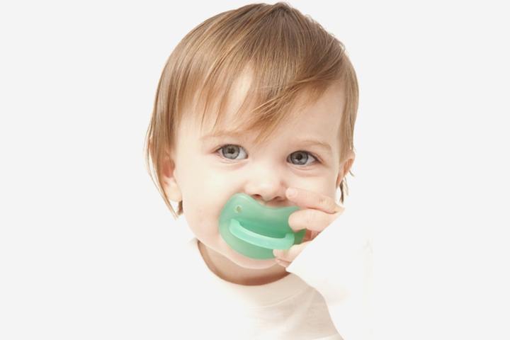 Molar Muncher is a pacifier that works on the entire gum line all at one time.