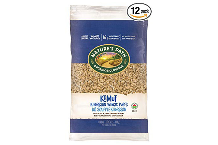Nature's Path KAMUT Khorasan Wheat Puffs Cereal
