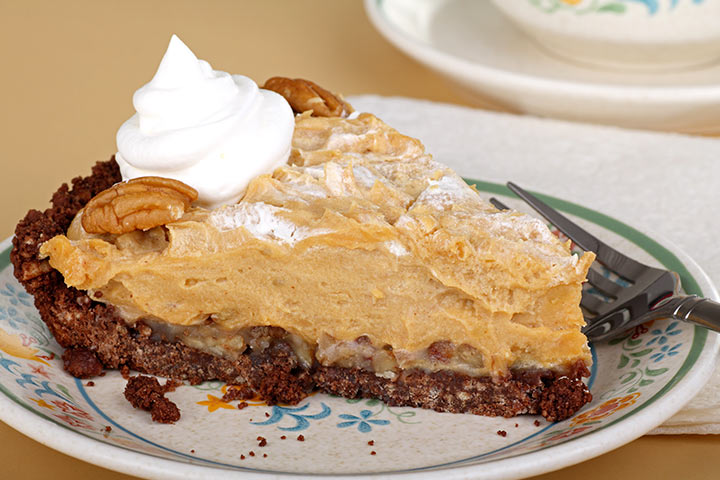 Easy Dessert Recipes For Teens - No Bake Peanut Butter Pie