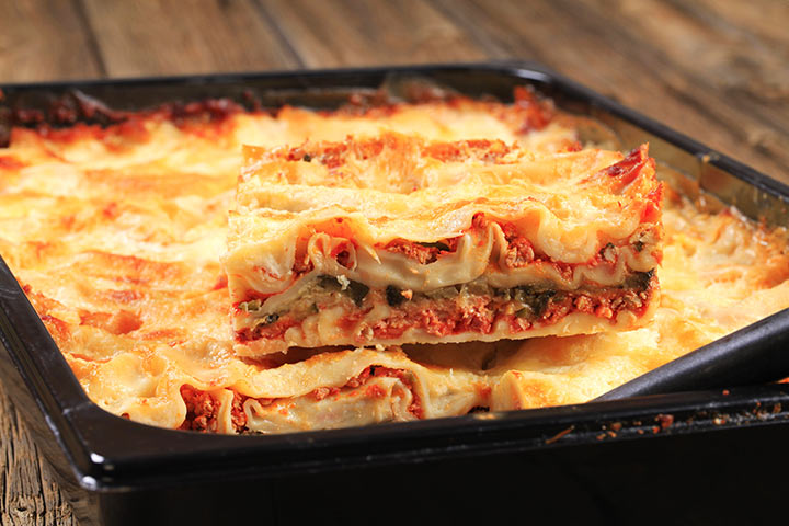 Recipes For Breastfeeding Moms - One-Pan Lasagna