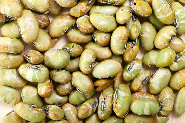Protein Snacks For Kids - Parmesan And Garlic Roasted Edamame
