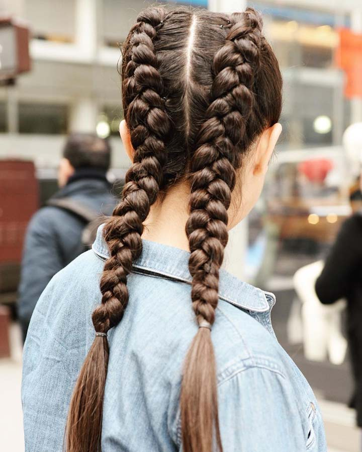 8. Pigtail Braid