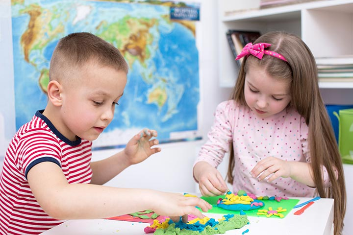 Rainy Day Crafts For Kids - Play Dough