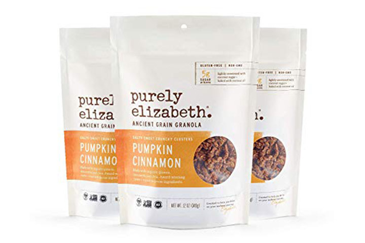 Purely Elizabeth Ancient Grain Granola, Pumpkin Cinnamon