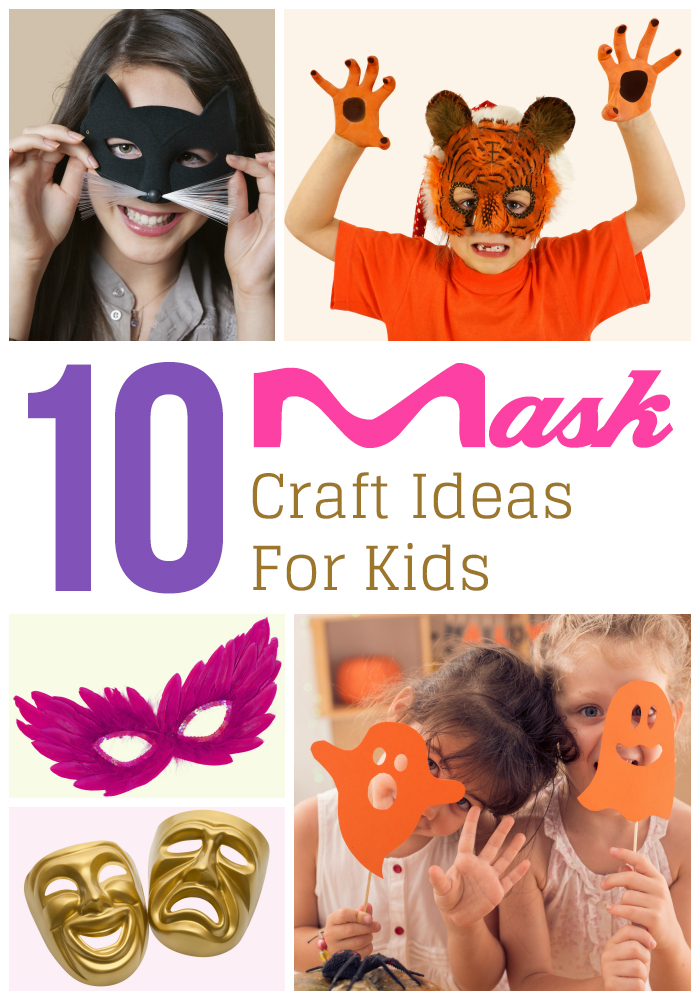 10 Quick Easy Mask Craft Ideas For Kids