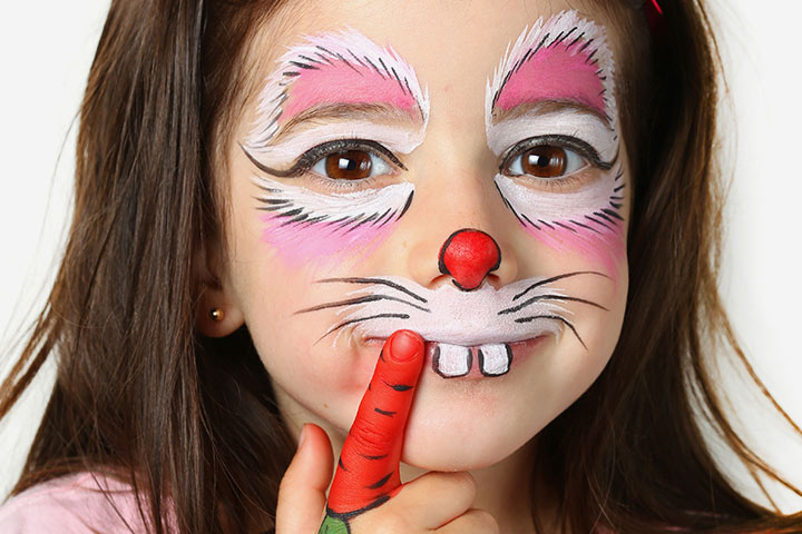 Rabbit Face Paint
