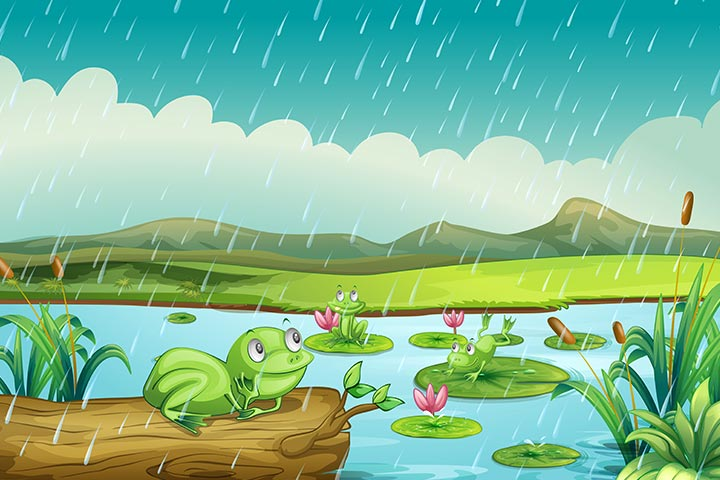 Frog Activities For Toddlers - Rainy Day Frog