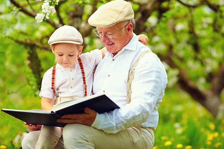 Grandparents Day Activities For Kids - Read A Book On Grandparents