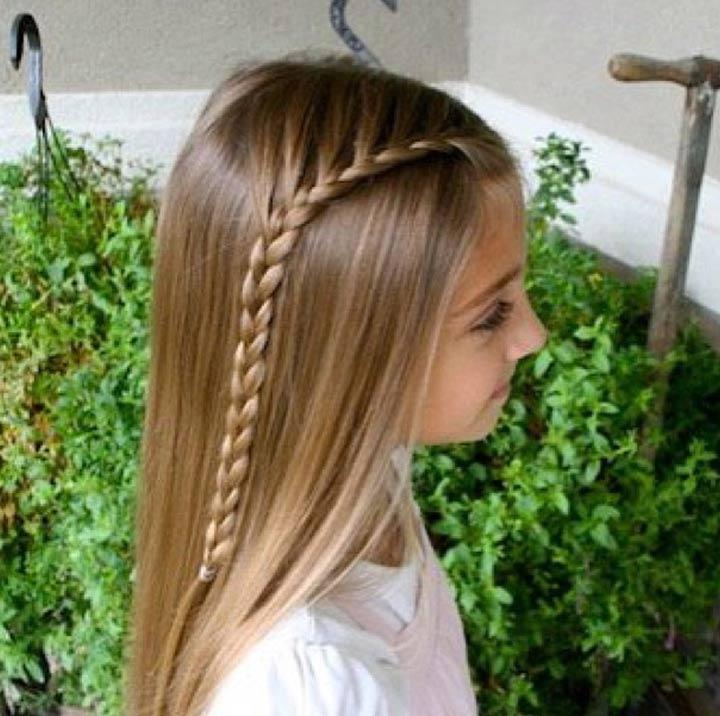 Same Side Lace Braid