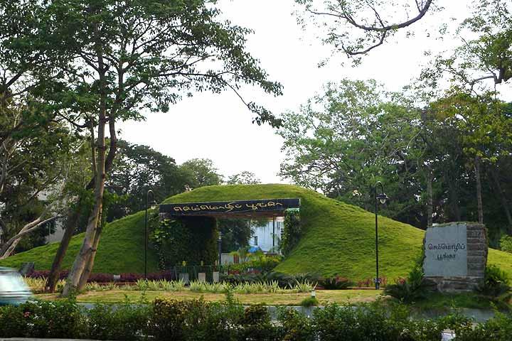 Parks In Chennai - Semmozhi Poonga