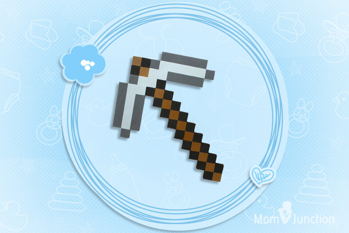 Minecraft Toys For Kids - Think Geek Minecraft Pickaxe