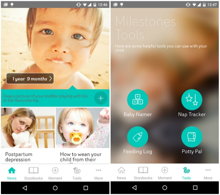 Today's Parent My Family - Best Baby Tracking App